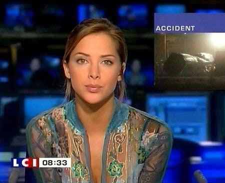 Mélissa theuriau la jolie présentatrice française très populaire