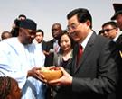 Visite du président chinois Hu Jintao en Arabie saoudite et dans quatre pays africains