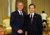 Le Premier ministre chinois rencontre l'ancien président américain Bush à Bo'ao en marge du BFA
