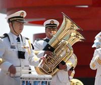Représentations conjointes des orchestres des marines multinationales à Qingdao