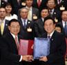Des accords entre les deux rives du détroit de Taïwan sur les vols réguliers et la coopération financière et judiciaire