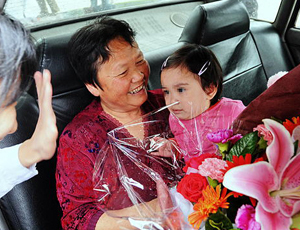 La plus jeune patiente de la grippe A/H1N1 en Chine autorisée à quitter l'hôpital