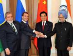 Hu Jintao plaide pour une coopération plus étroite entre pays du BRIC
