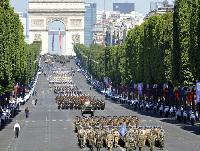 La France, le 14 juillet 2009, à l'occasion de la 220e Fête nationale