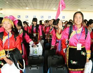 Séisme du Sichuan: retour de Russie d'élèves chinois