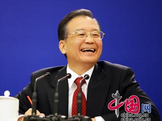 Conférence de presse du premier ministre chinois Wen Jiabao