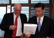 Forum de Boao: rencontre Xi Jinping - Henry Paulson