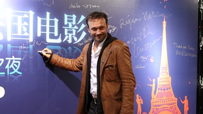 Vincent Perez : c'est formidable de voir le succès des films français en Chine
