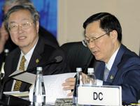 Les officiels chinois discutent questions financières avec les leaders du G20