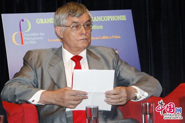 M. Patrick Nijs, ambassadeur de Belgique en Chine,