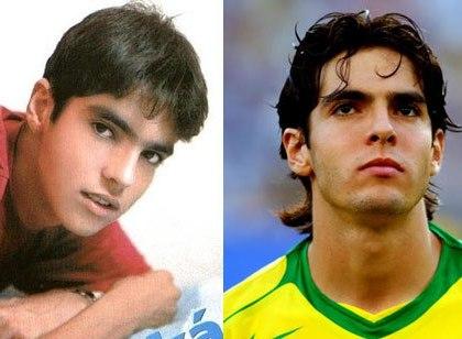 Photos d'enfance des célébrités du football