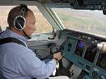 Vladimir Poutine pilote un bombardier d'eau