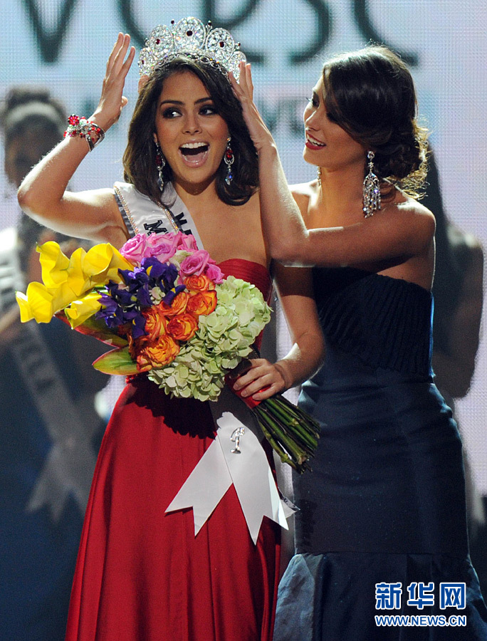 Résultat du concours de Miss Univers 2010: Miss Mexique Jimena Navarrete couronnée