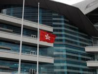 Drapeaux en berne à Hong Kong en hommage aux victimes de la prise d'otages aux Philippines