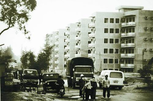 Les premiers logements privés de Shenzhen.