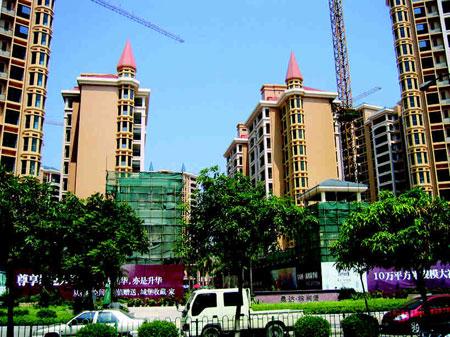 Les logements privés de Shenzhen se dressent telle une forêt d'immeubles.