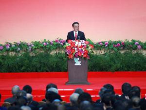 Expo 2010 : début de la journée du pavillon de la Chine