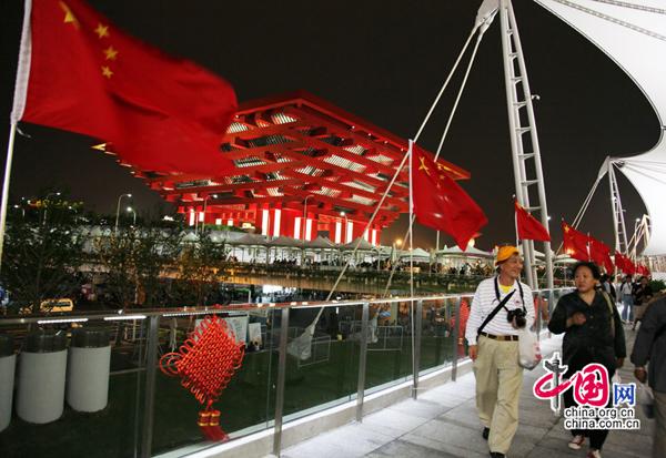Le pavillon chinois va rester ouvert après l'Expo 1