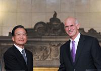 Le PM chinois exprime le soutien ferme de la Chine à la Grèce dans sa lutte contre la crise financière