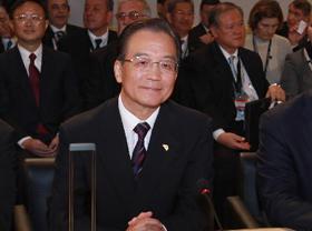 Wen Jiabao prononce un discours au sommet Europe-Asie