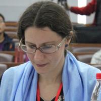 Mylène Hardy, attachée de coopération linguistique de l'Ambassade de France à Beijing