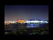 Le pavillon Chine et le Centre culturel de l'Expo