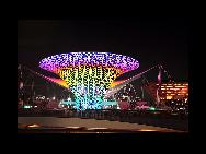 La vallée du Soleil sur le boulevard de l'Expo