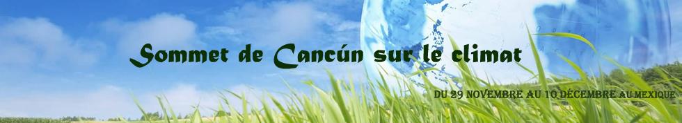 Conférence de Cancún sur le climat