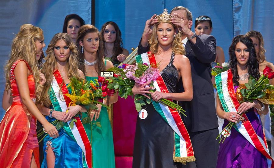 Miss Hongrie 2010: Gregori Dóra couronnée