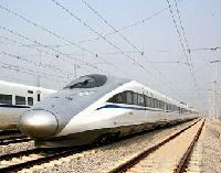 Un train chinois bat le record mondial de vitesse lors d'essais
