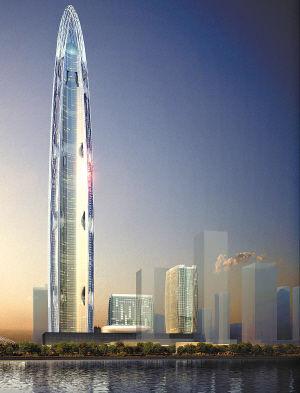 Le troisi me plus grand gratte ciel au monde sera construit wuhan - Gratte ciel le plus haut ...