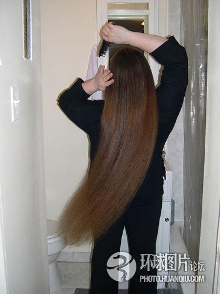 les cheveux les plus longs du monde