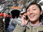 Fin des travaux d'un tunnel sur une autoroute du Tibet