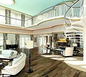 monaco sur les mers le futur m ga yacht de luxe de 700 millions de livres. Black Bedroom Furniture Sets. Home Design Ideas