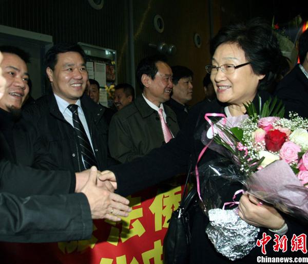 Arrivée à Paris d'une délégation artistique chinoise pour célébrer la nouvelle année lunaire_1