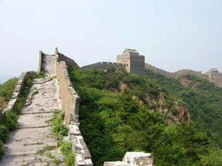 5 Le tronçon de la Grande Muraille de Simatai