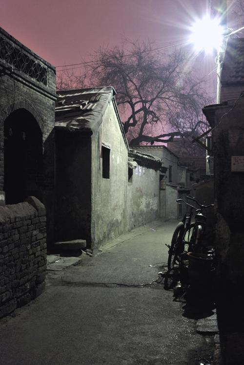 Le soir venu, les hutong retrouvent leur tranquillité.