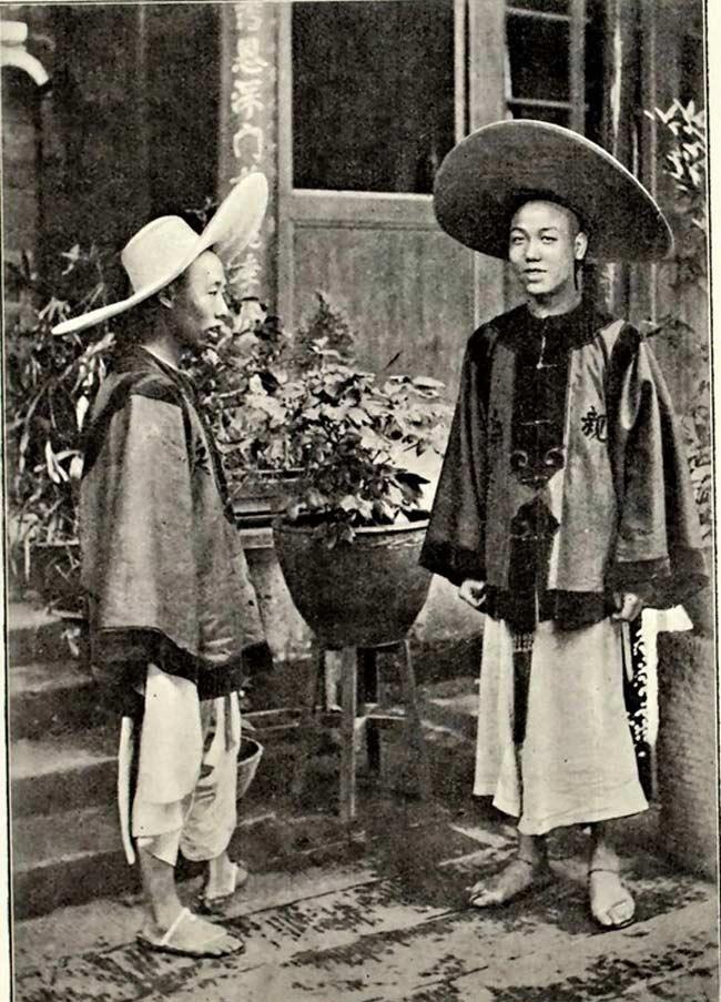 Des soldats des douanes à Chongqing