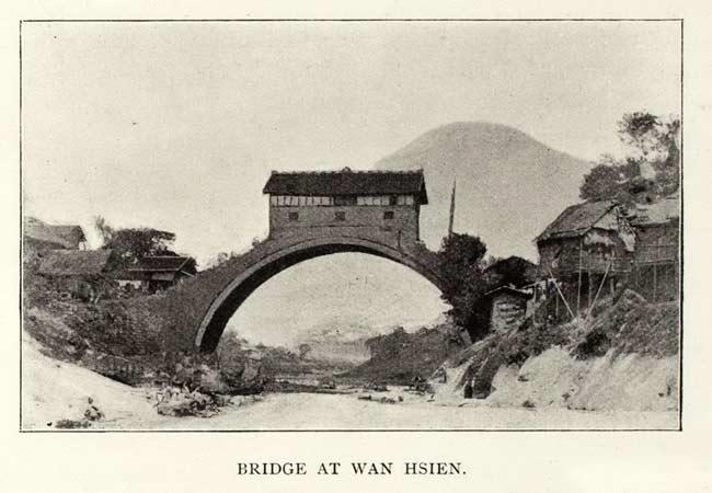 Un pont à Wanxian