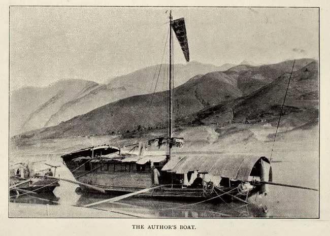Le bateau qu'a utilisé Isabelle Bird lors de son voyage