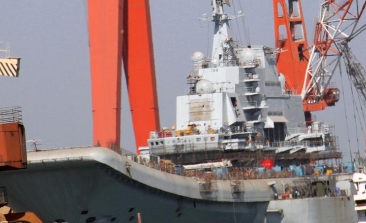 Le porte-avion chinois s'apprête à partir en mer_1