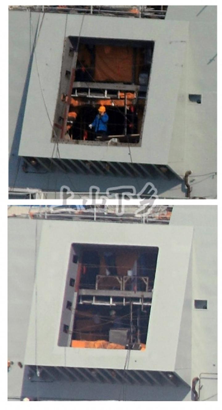 Le porte-avion chinois s'apprête à partir en mer_9