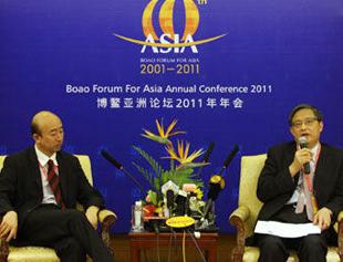 Conférence de presse: clôture du Forum asiatique de Bo'ao 2011