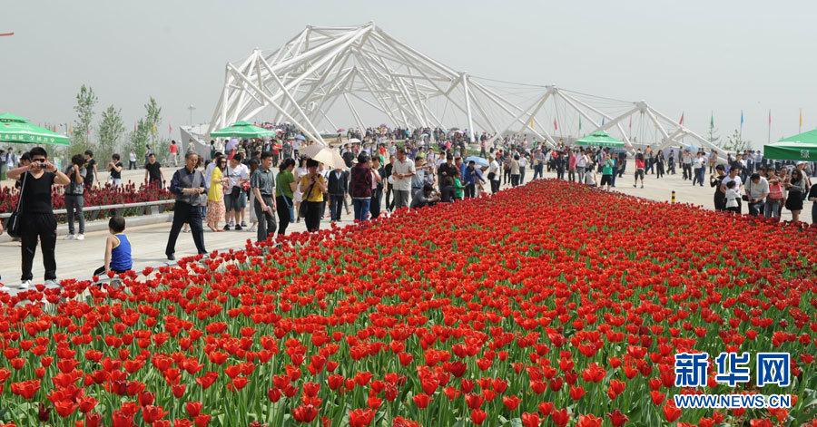 Inauguration de l'Exposition universelle d'horticulture de Xi'an 2011
