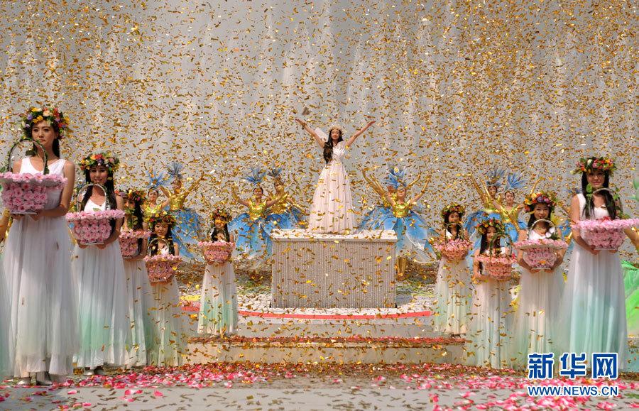 Cérémonie d'inauguration de l'Exposition universelle d'horticulture de Xi'an 2011