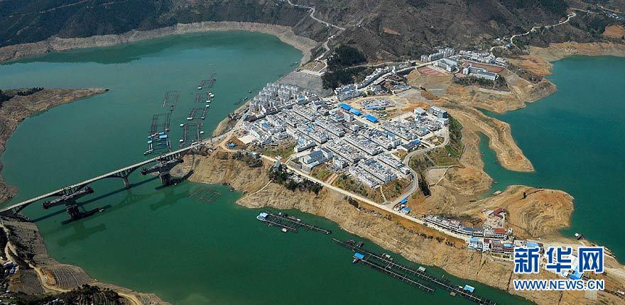 Vue panoramique des régions reconstruites dans le Sichuan_5