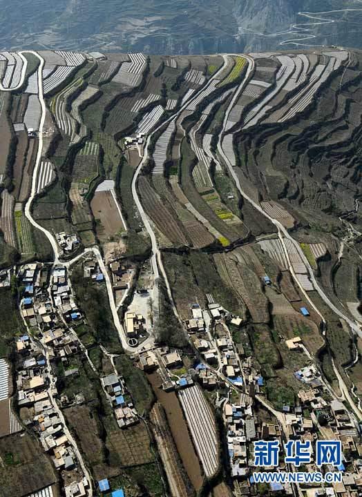 Vue panoramique des régions reconstruites dans le Sichuan_9