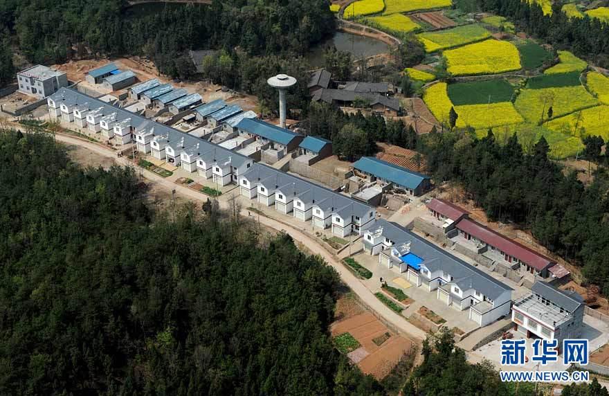Vue panoramique des régions reconstruites dans le Sichuan_10
