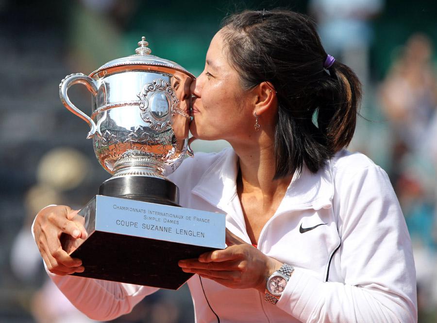 Roland-Garros: Li Na, première Chinoise victorieuse en Grand Chelem_2