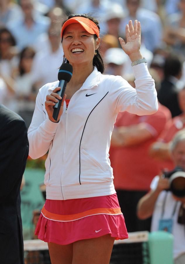 Roland-Garros: Li Na, première Chinoise victorieuse en Grand Chelem_5
